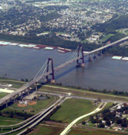 Hale Boggs Bridge, St. Charles Parish, Louisiana