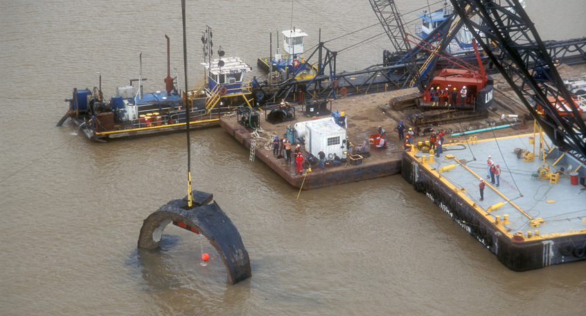 Baytown Tunnel Removal, Baytown, Texas