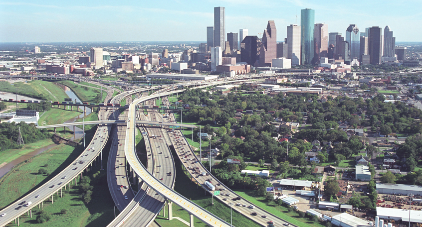 METRO IH 10 HOV LANE and IH 10 Improvements, Houston, Texas