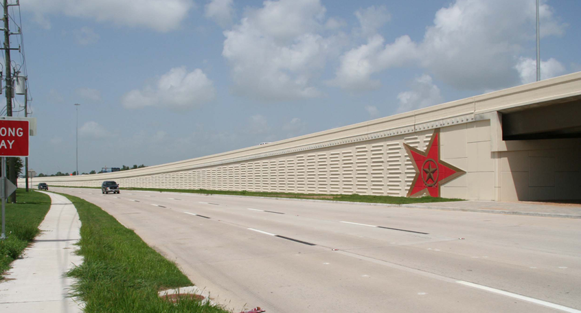 Katy Freeway Reconstruction, Houston, Texas