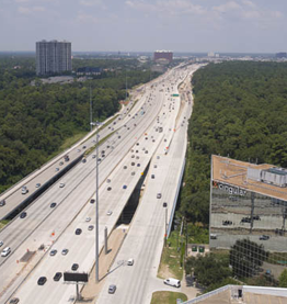Katy Freeway Reconstruction, Houston, Texas