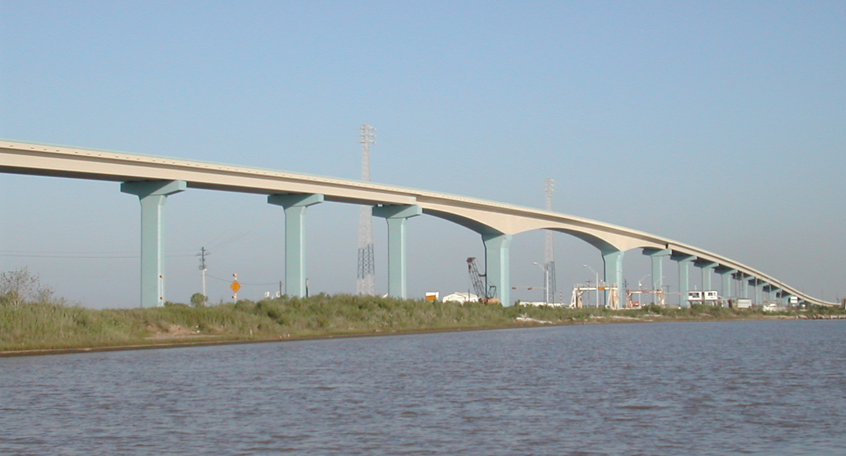 Quintana Bridge, Freeport, Texas