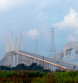 Veterans Memorial Bridge, Jefferson County, Texas